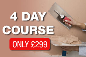 4 day learn to plaster course only £299